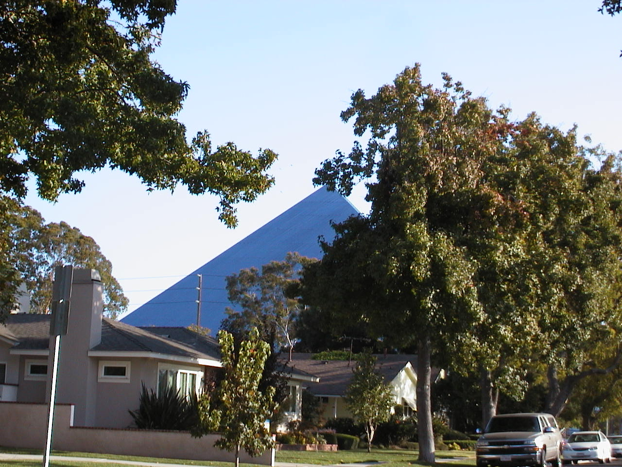Pyramid at CSU Long Beach